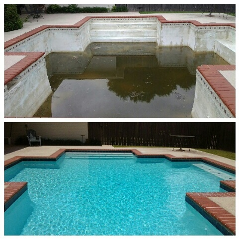 Coppell Brick Pool
