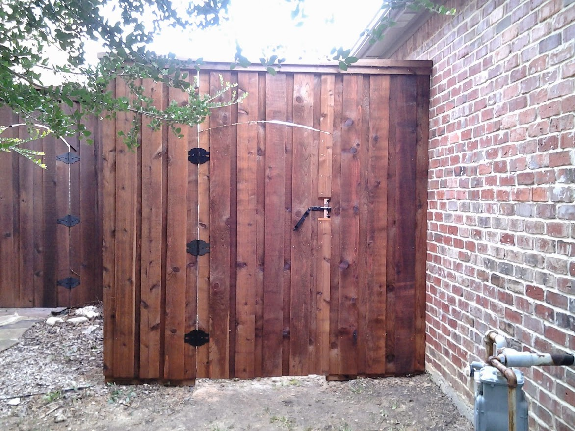 Western Red Cedar Fence Gate