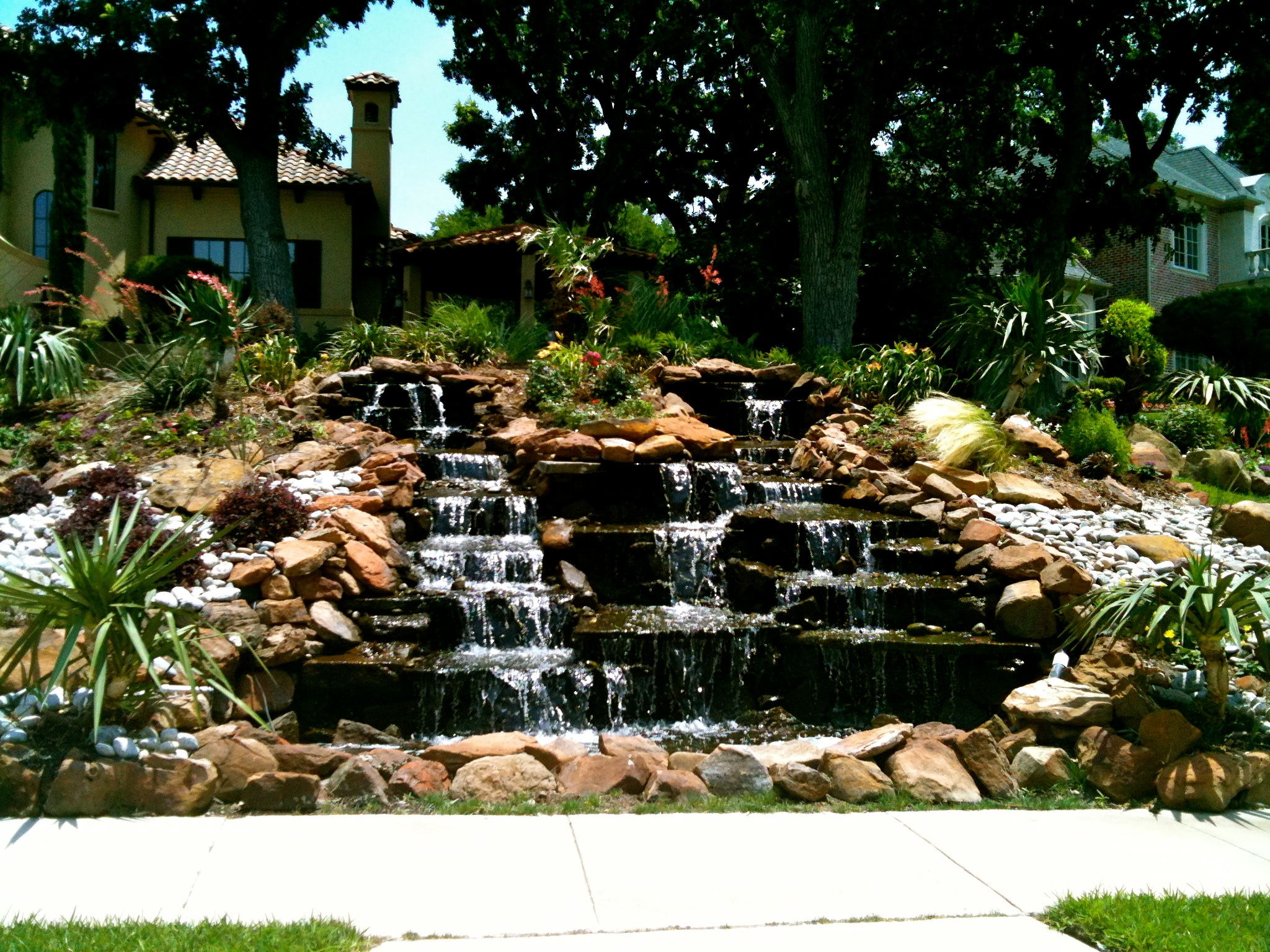 Stone Water Feature 2